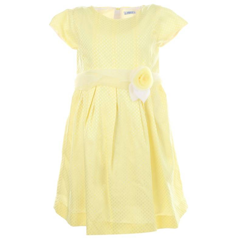 Купить 3.912/71, Платье MAYORAL, цв. желтый, 134 р-р, Платья для девочек