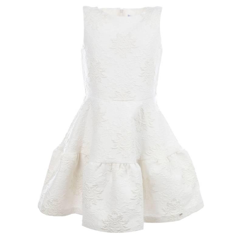 Платье MAYORAL, цв. бежевый, 140 р-р, Детские платья и сарафаны  - купить со скидкой