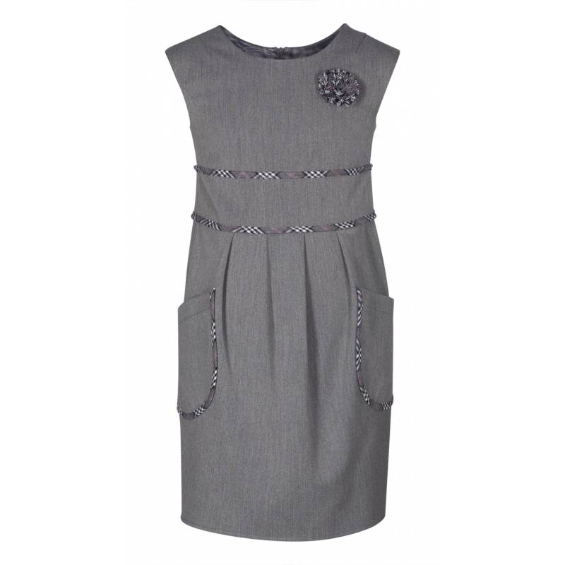 Купить Сарафан SkyLake, цв. серый, 28 р-р, Детские платья и сарафаны