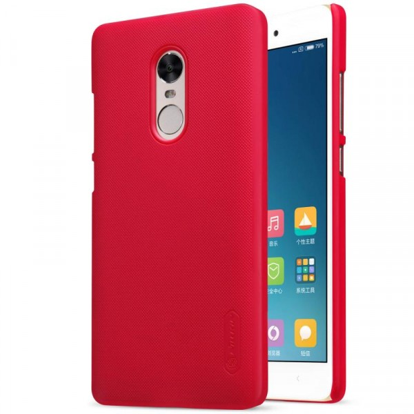 Чехол Nillkin Matte для Xiaomi Redmi Note 4X / Note 4 (SD) Red по цене 799