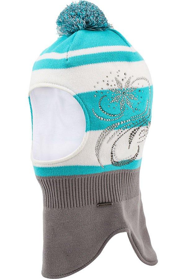 Купить KB17-71100J, Шапка для девочки Finn Flare, цв. голубой, р-р. 52, Детские шапки и шарфы