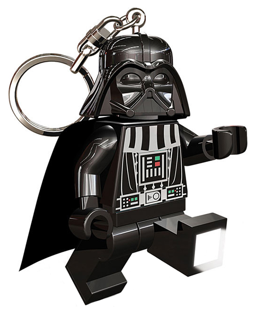 Купить Брелок-фонарик для ключей LEGO Star Wars. Darth Vader ,