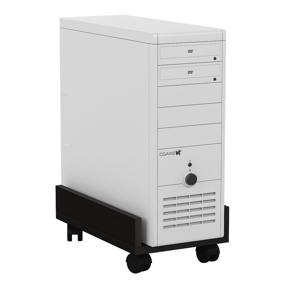 Подставка под системный блок Мебельный Двор 4-02 венге 27х45х15 фото