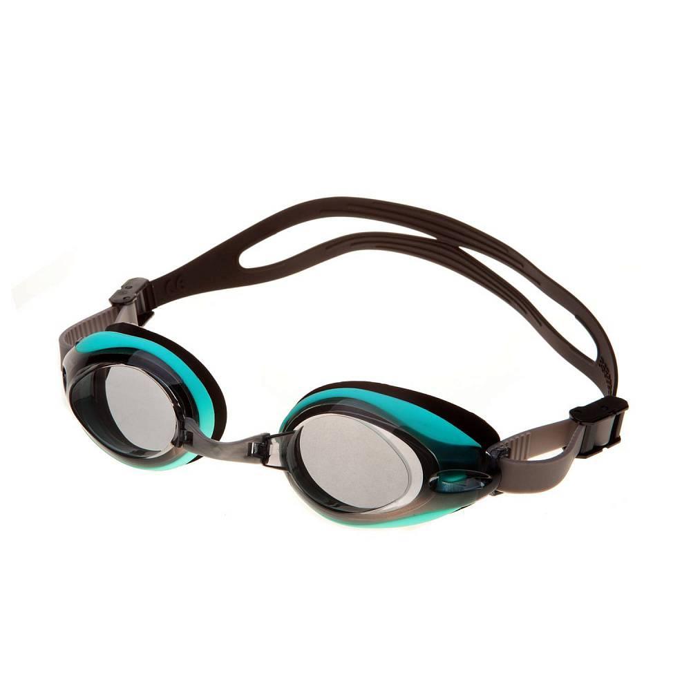 Очки для плавания Alpha Caprice AD-G3500 Silver/Turquise/Black фото