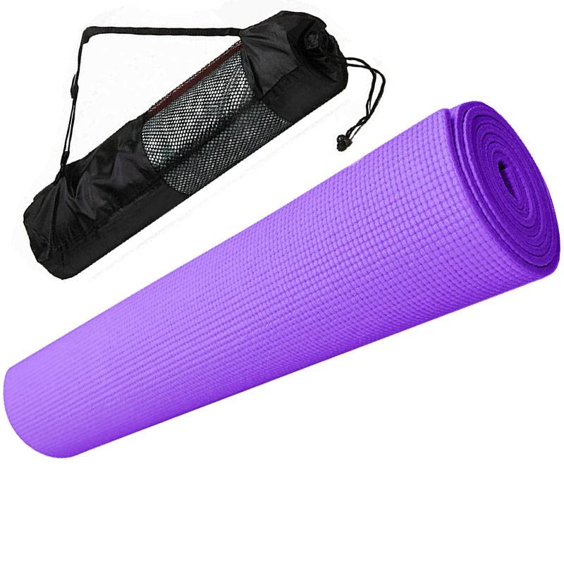 Коврик для йоги Hawk E29262 фиолетовый