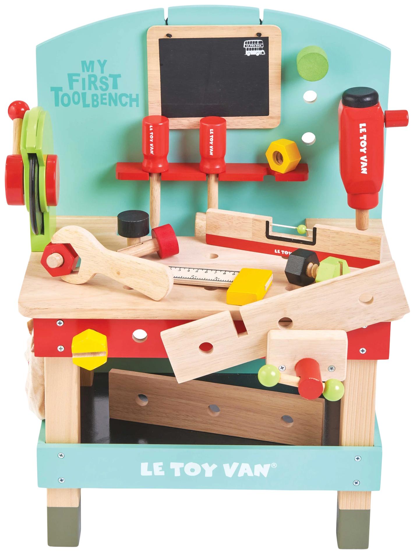 Игровой набор Le Toy Van Моя первая мастерская TV448 17 предметов