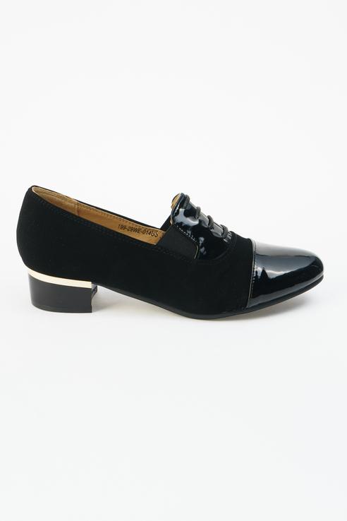 Туфли женские INSTREET 199-29WE-014GS черные 41 RU фото