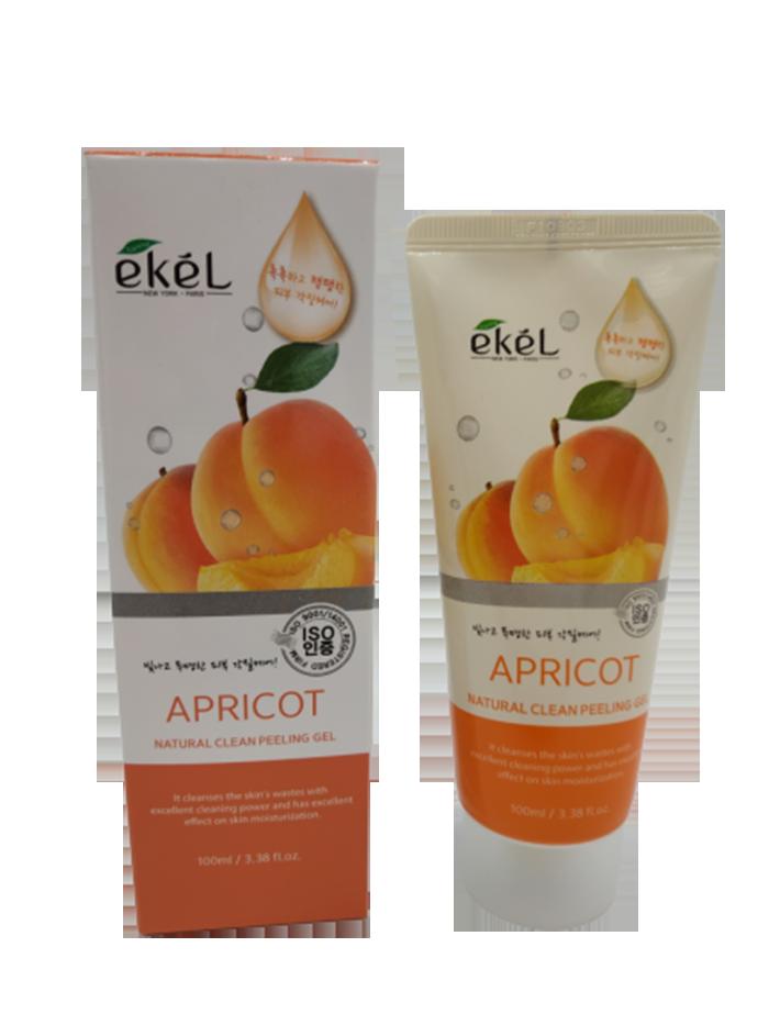 Купить Пилинг для лица с экстрактом абрикоса Ekel Peeling Gel Apricot 100 мл