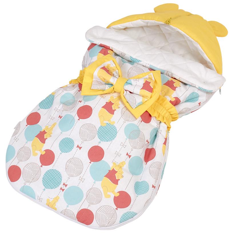 Купить Конверт демисезонный Polini kids Disney baby Медвежонок Винни Чудесный день, Конверты для новорожденных