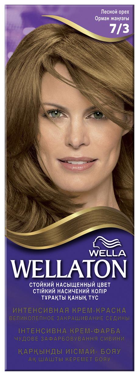 Краска для волос Wella Wellaton 7/3 лесной орех 110 мл