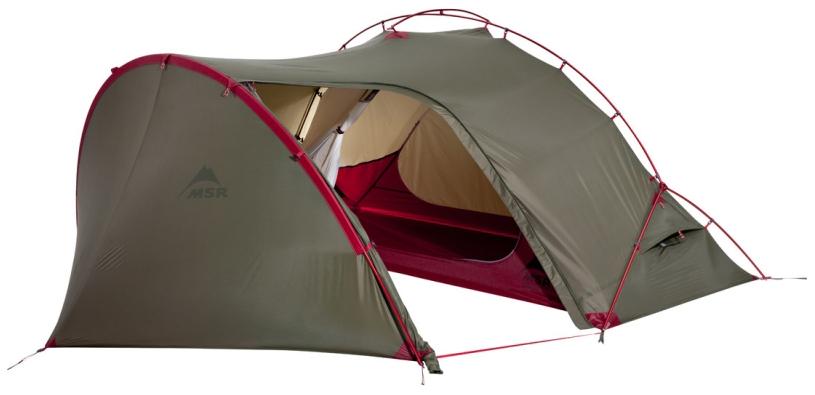 Палатка MSR Hubba Tour одноместная зеленая
