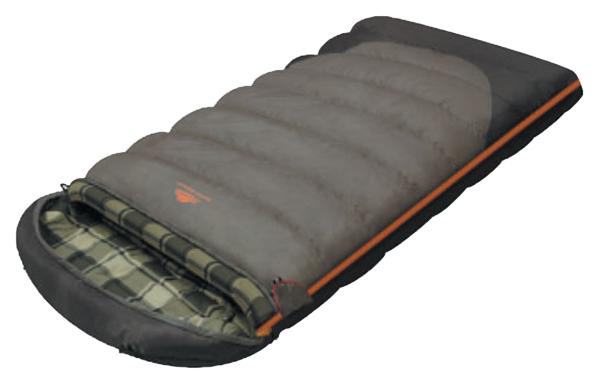 Спальный мешок Alexika Siberia Wide Plus серый, правый