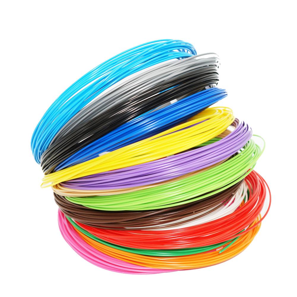 Купить Набор пластика pro для 3d ручек 15 цветов pro-15, Unid,