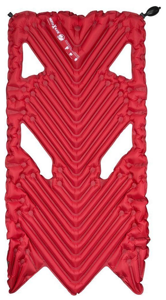 Коврик туристический надувной Klymit Inertia X Wave Pad Red