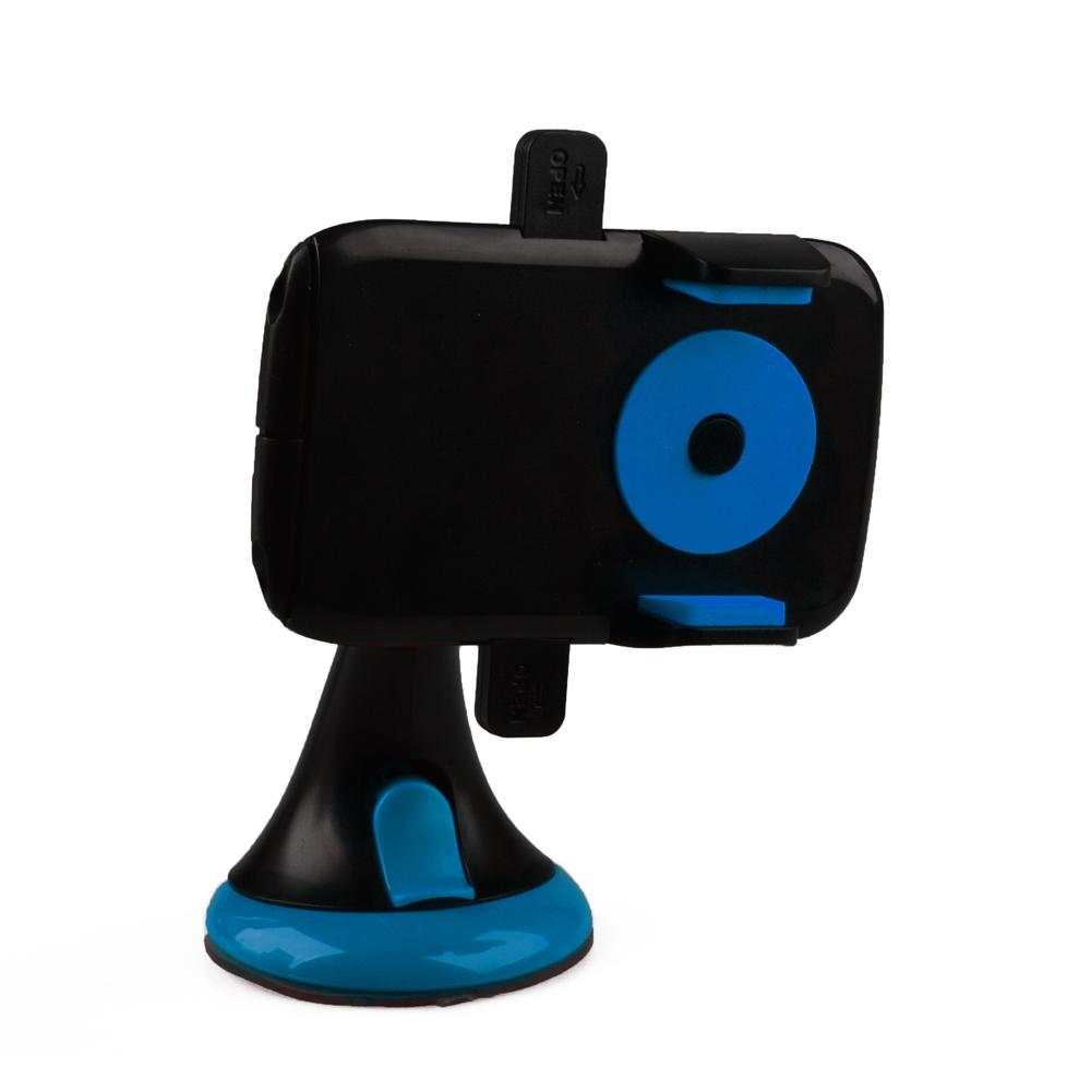 Держатель в автомобиль для телефона 'LP' на штанге 12HD68 (синий/черный), Liberty Project  - купить со скидкой