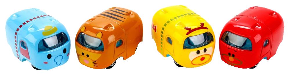 Купить Набор машинок Shantou Gepai 4 шт. Pp1082, Игрушечные машинки