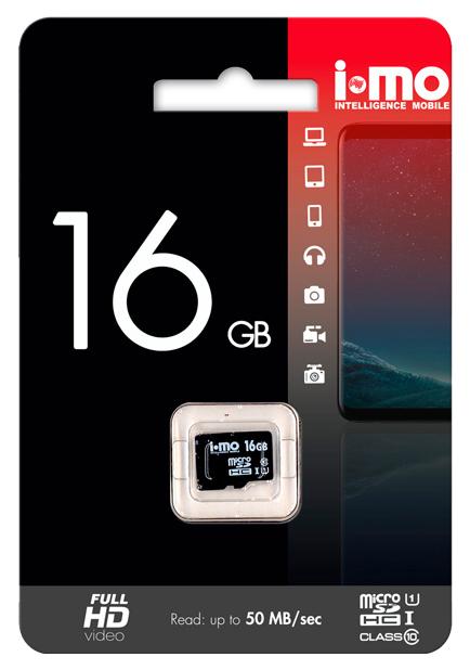 Карта памяти IMO Micro SD IM16GBSD