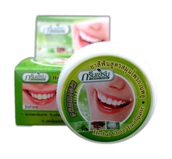 Зубная паста Green Herb Растительная 25 мл
