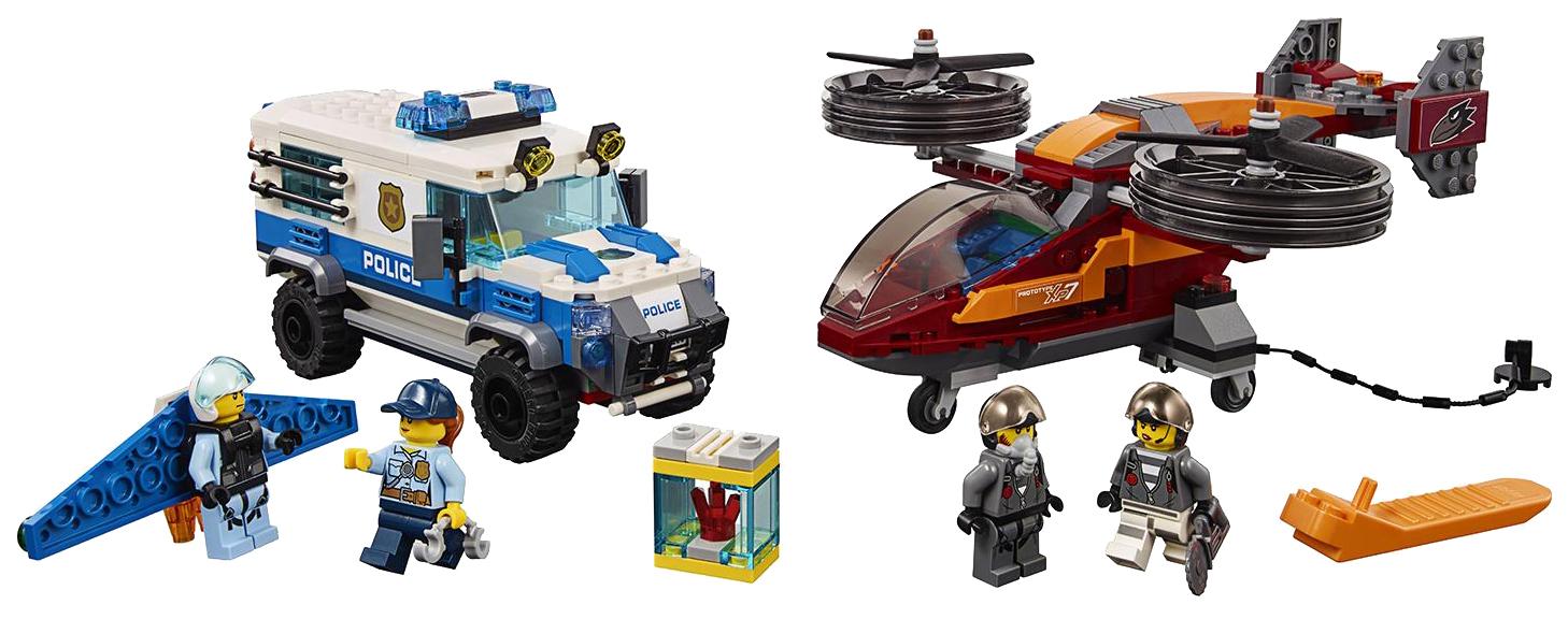 Конструктор LEGO City 60209 Воздушная полиция: кража бриллиантов фото