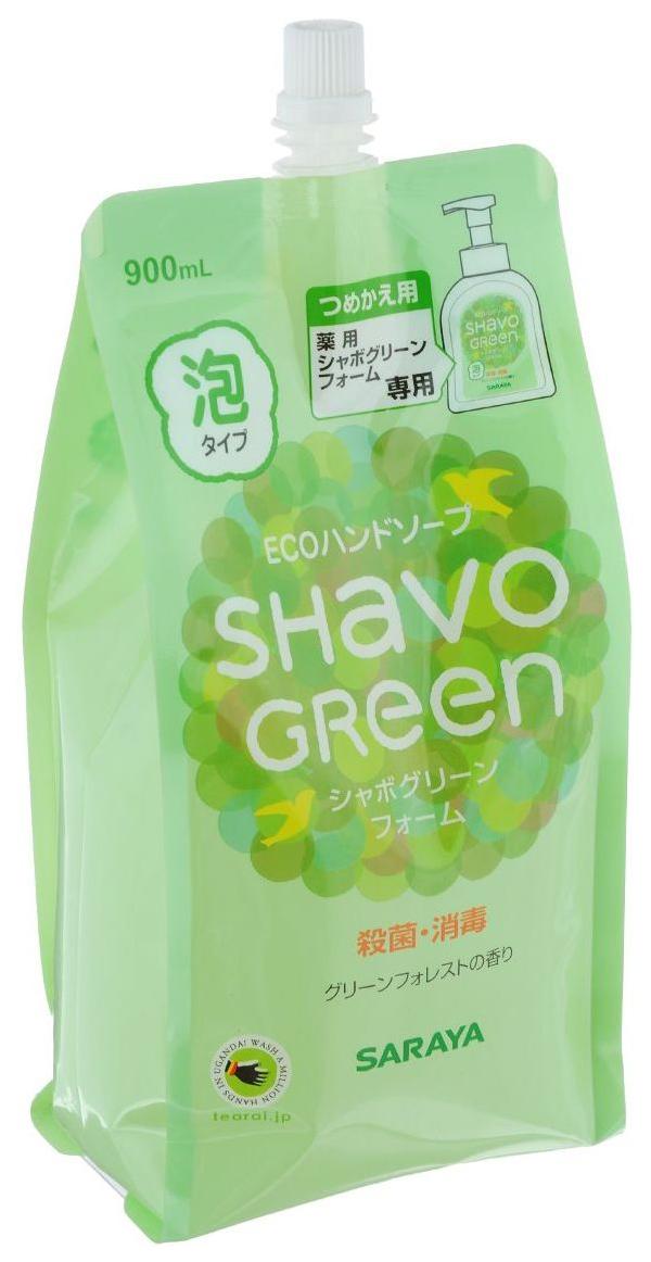 Жидкое мыло Saraya Shavo Green 900 мл