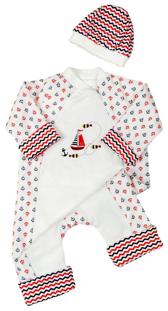Купить Комбинезон шапочка Бриз с рисунком Сонный Гномик, Сонный гномик, Комплекты для новорожденных