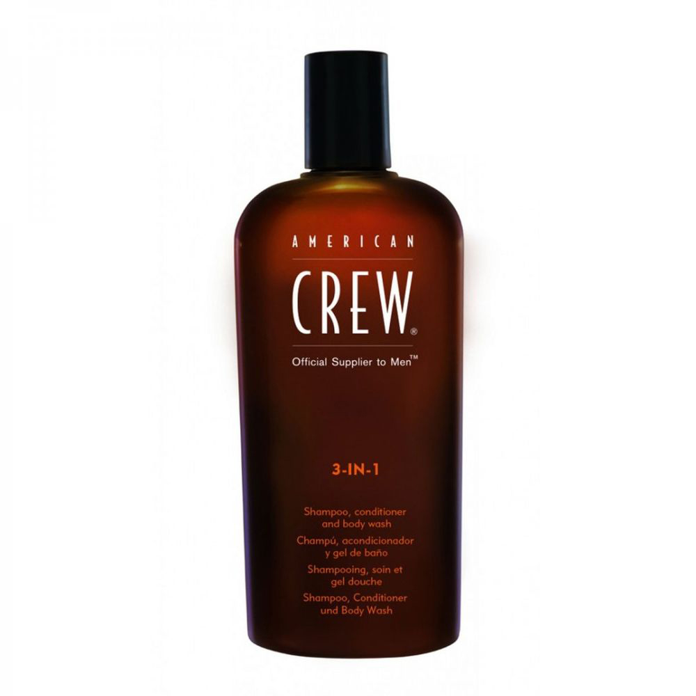 Купить Шампунь American Crew Classic 3-in-1 Shampoo, Conditioner & Body Wash 100 мл