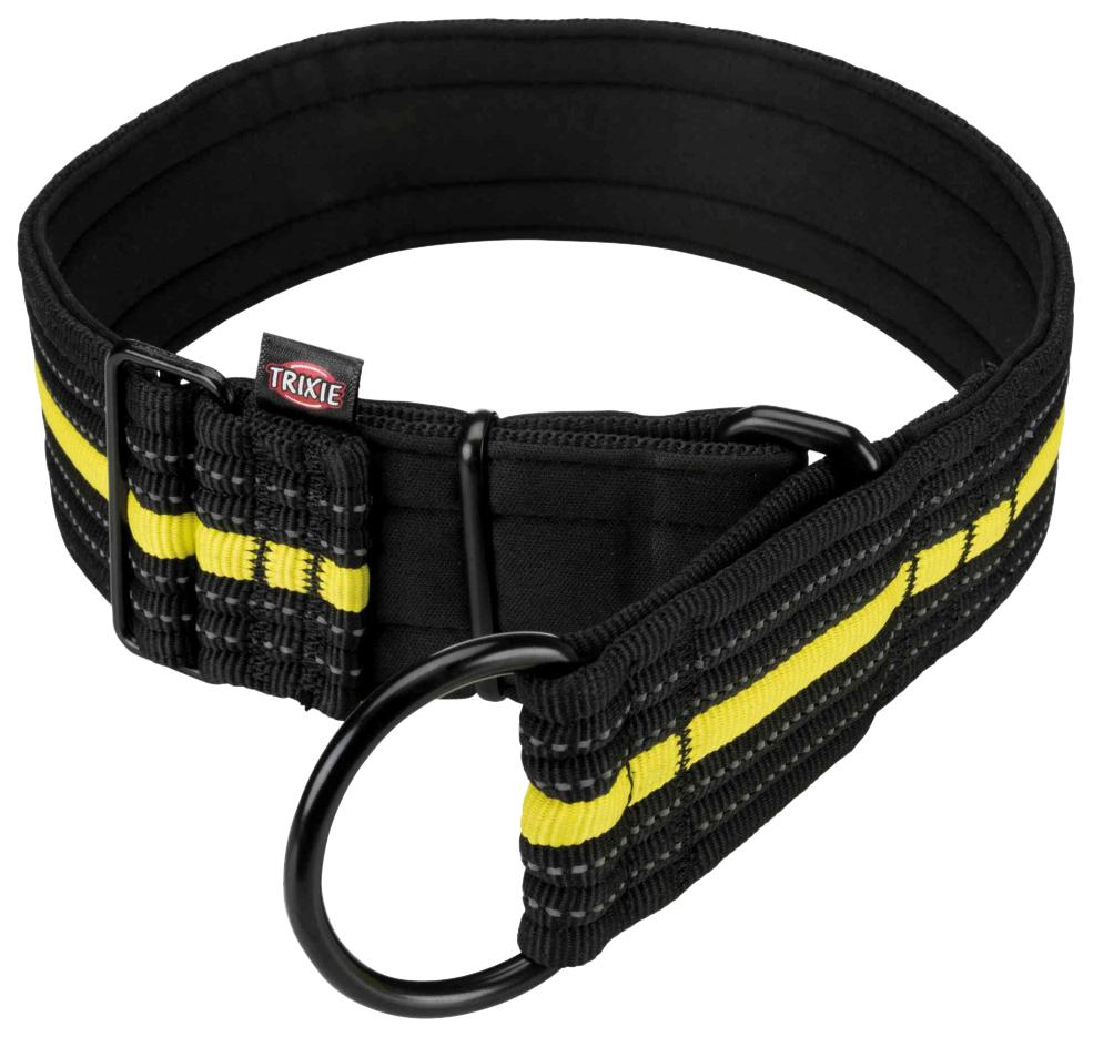 Ошейник для собак Trixie Fusion Sporting L черный/желтый 192 г 207310