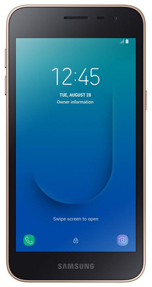 Смартфон Samsung Galaxy J2 Core 8Gb Gold (SM-J260F) фото