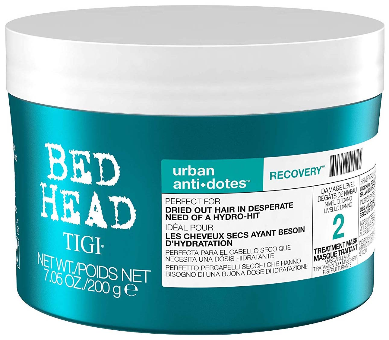 Маска для волос Tigi Bed Head Urban Antidotes Level 2 Recovery Treatment Mask 200 г