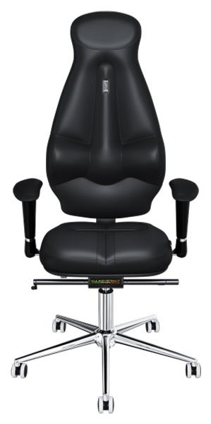 Офисное кресло Kulik System Galaxy, экокожа, Черный