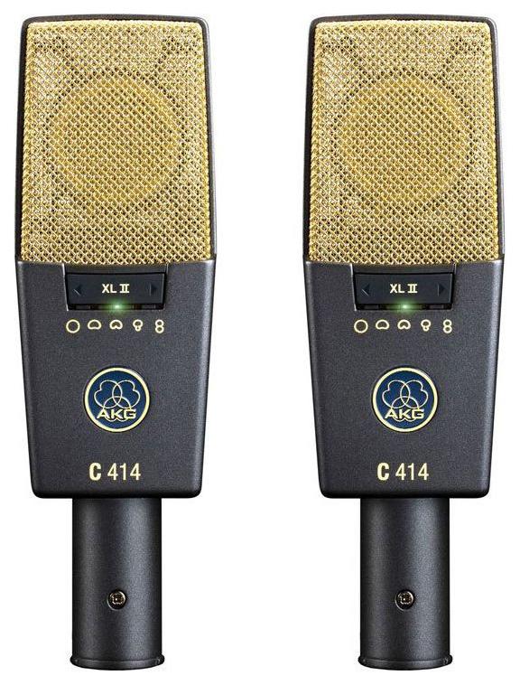 Стерео-пара студийных микрофонов AKG C414XLII/ ST
