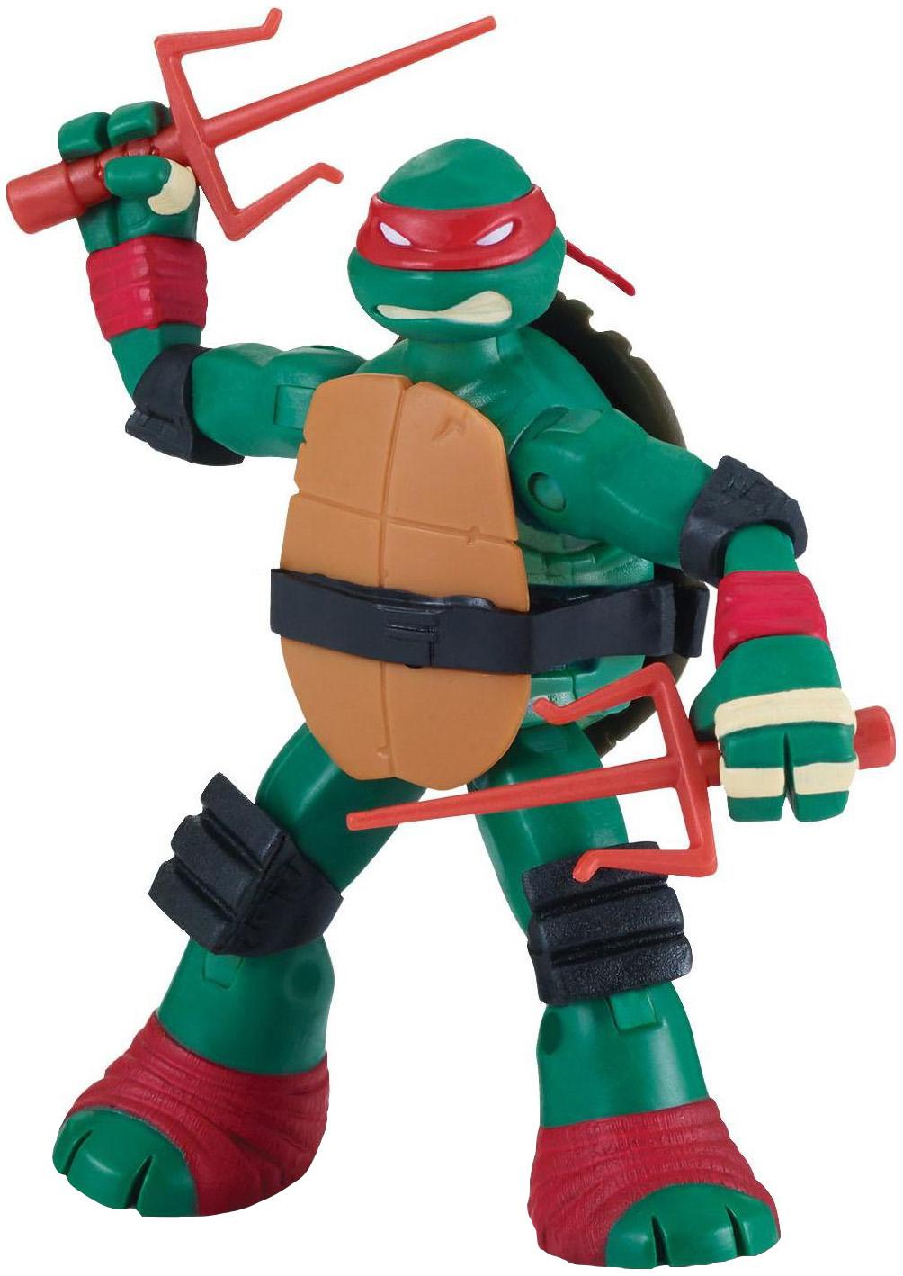 Купить Фигурка Playmates Toys черепашки-ниндзя, 12 см, Раф с боевым панцирем, Игровые наборы