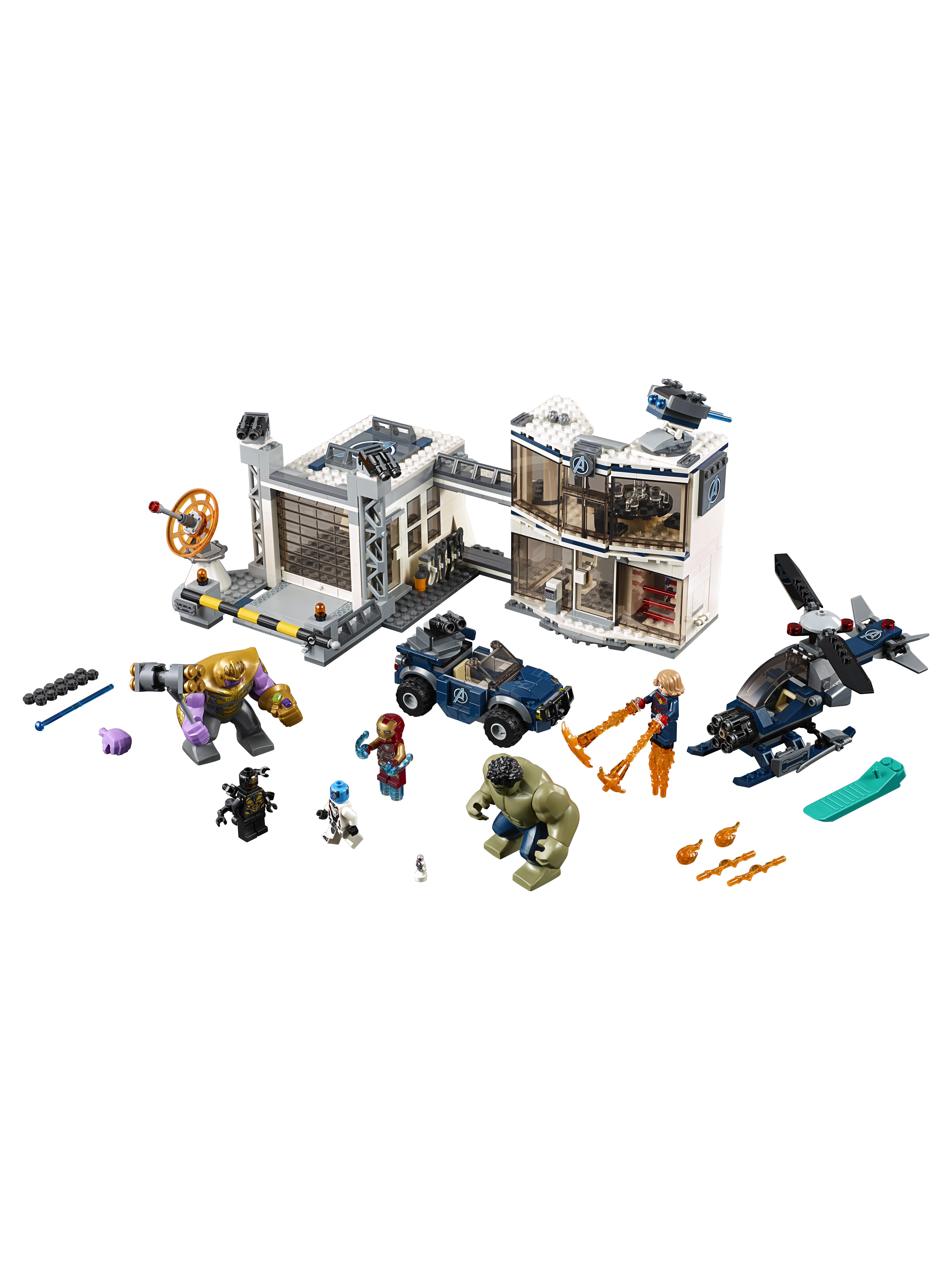 Конструктор LEGO Marvel Super Heroes 76131 Битва