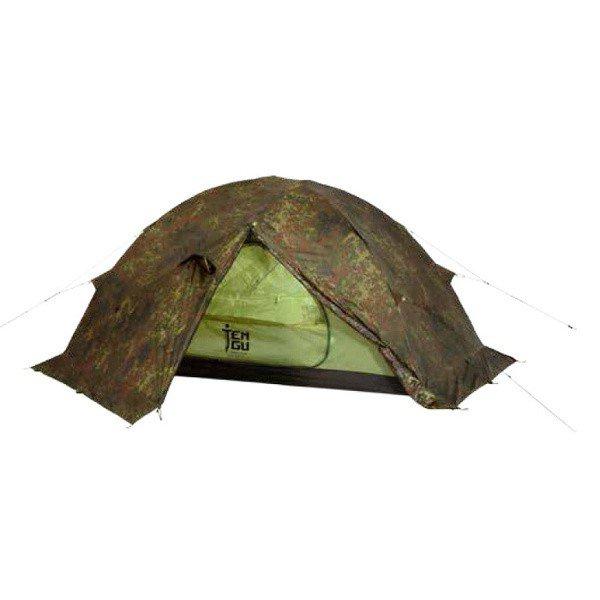 Палатка Tengu Mark 1.08T3 трехместная коричневая