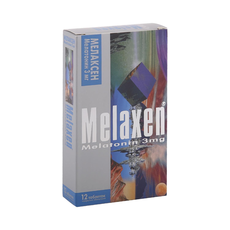 Мелаксен таблетки 3 мг 12 шт.
