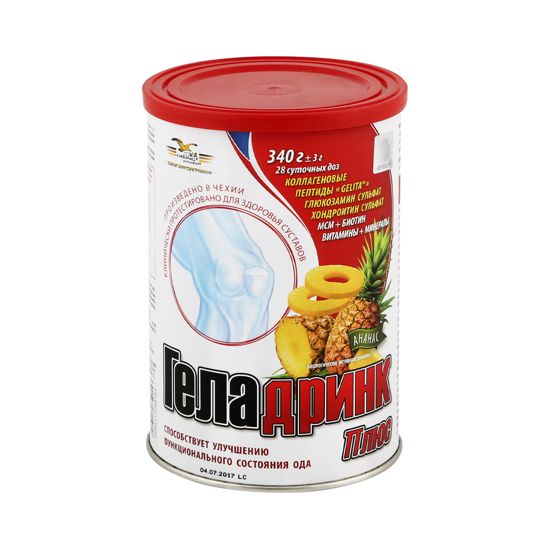Купить Геладринк Форте ананас, Геладринк Форте порошок 420 г ананасовые, Orling