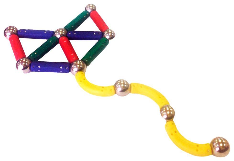 Конструктор магнитный Magneticus 21 элемент Воздушный змей
