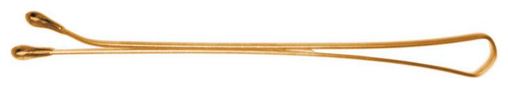 Купить Аксессуар для волос Dewal SLN40P-5/60 40 мм Прямые Золотистые 60 шт