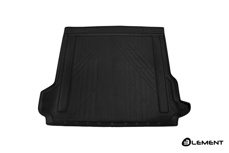 Коврик в багажник Element для TOYOTA LC150 Prado, 2017, 5 мест, полиуретан