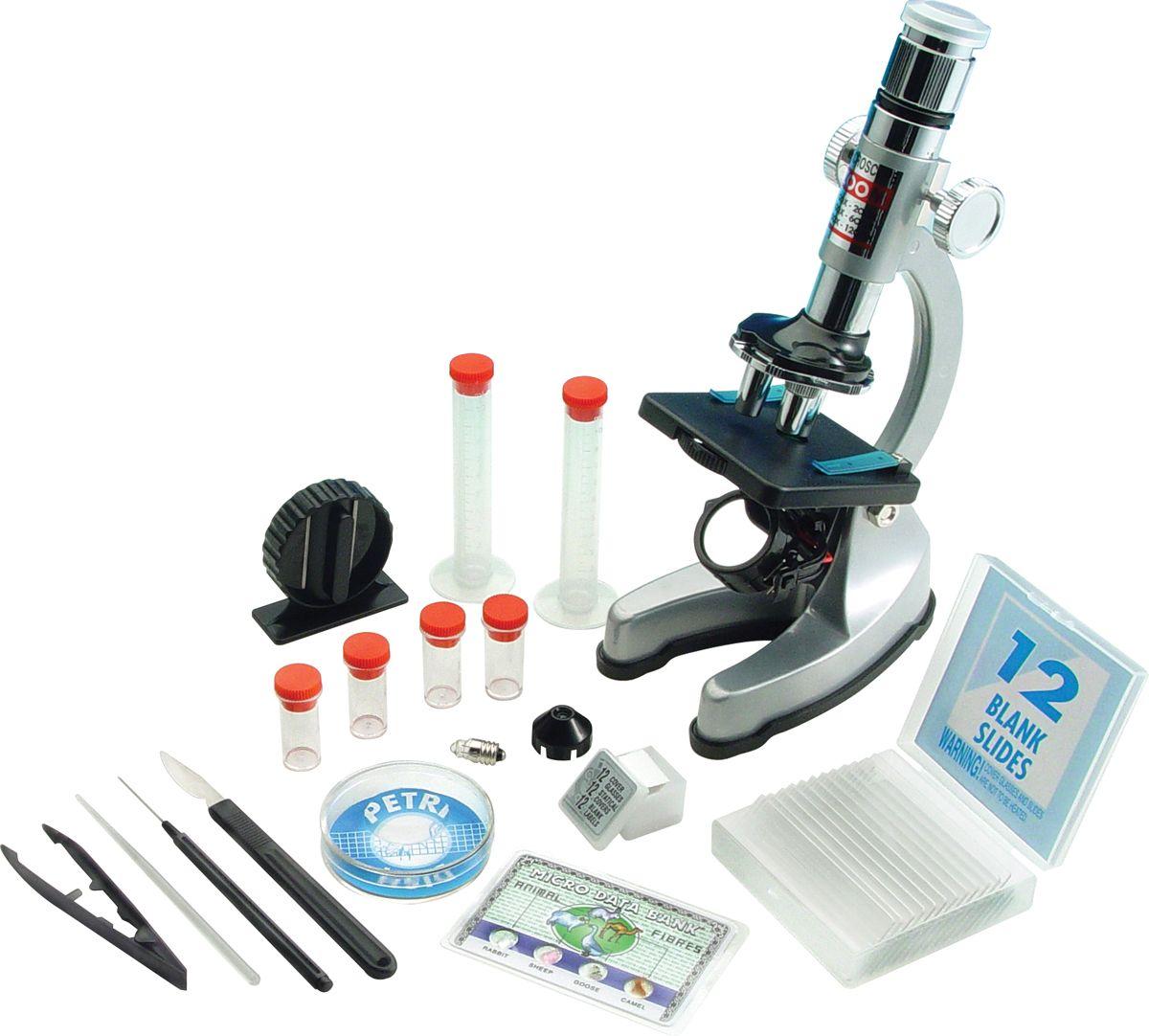 Микроскоп в кейсе набор EDU-TOYS