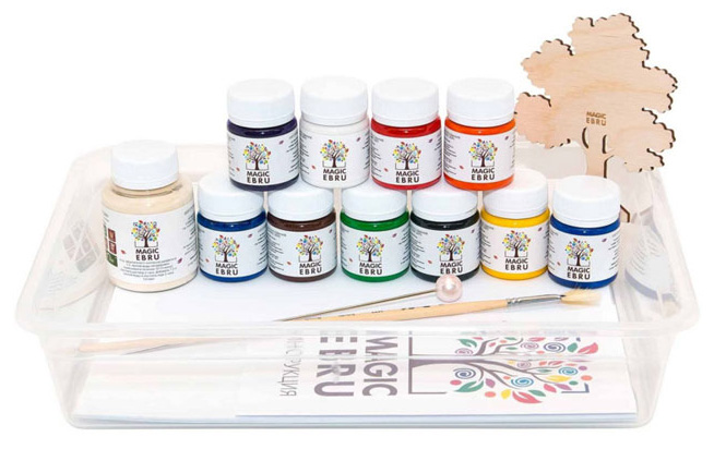 Набор для рисования Эбру Magic Ebru Master