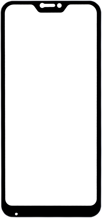 Защитное стекло GOSSO CASES для Xiaomi Xiaomi Mi A2 Lite/Redmi 6 Pro Black