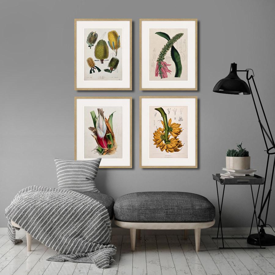 Постеры для интерьера с камнями