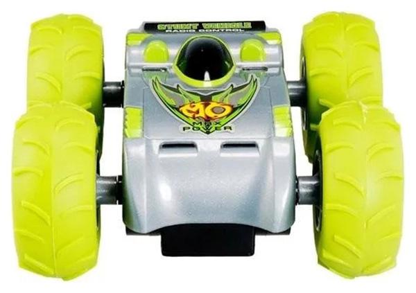 Радиоуправляемая машинка CS Toys Перевертыш с пневмоколесами Зеленый