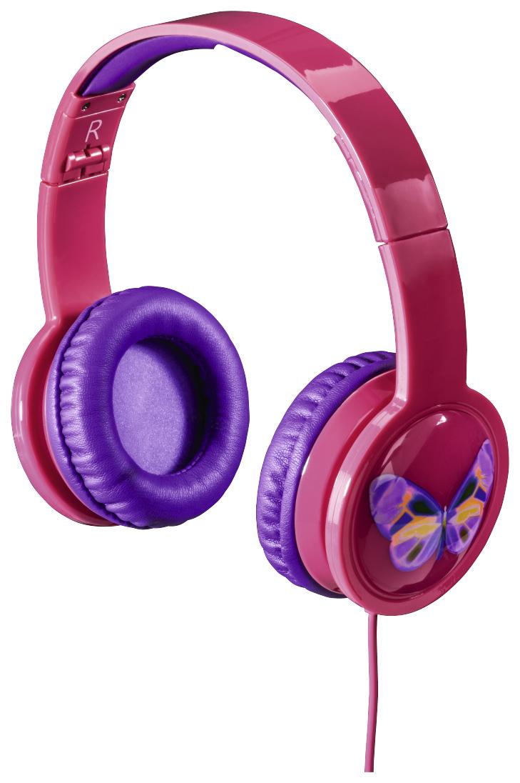 Наушники Hama Blink`n Kids Pink 00135664