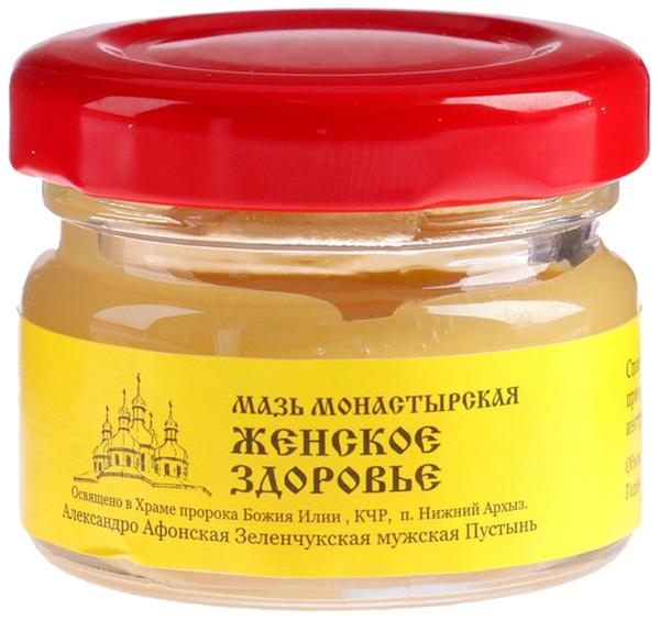 Мазь Монастырская Бизорюк Фабрика здоровья Женское здоровье