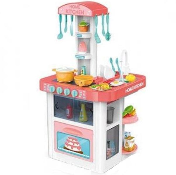 Купить Детская кухня Kitchen с водой Home Kitchen 889-59 40 предметов,