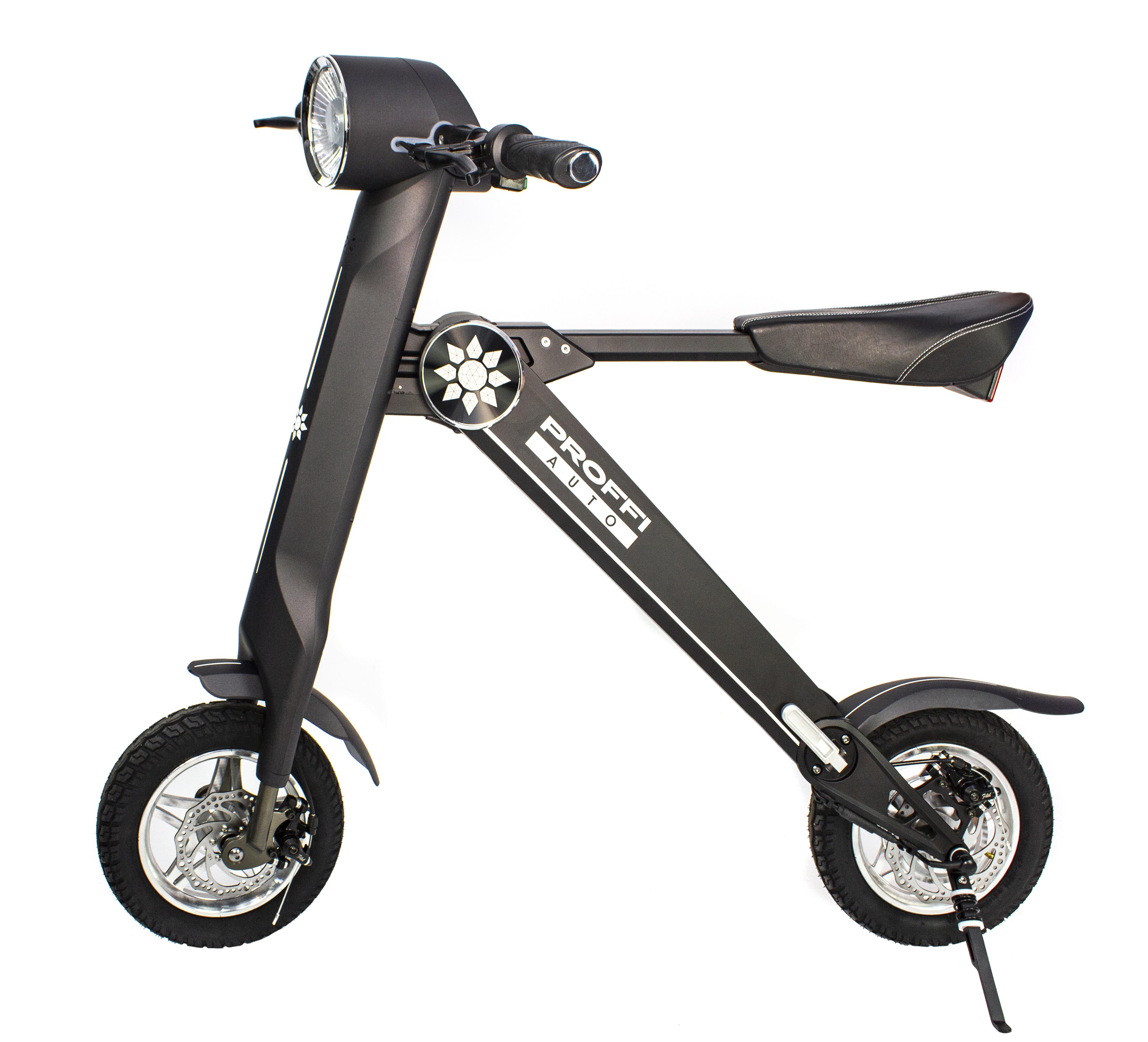 """Электровелосипед Proffi Auto 2019 17"""" серый"""