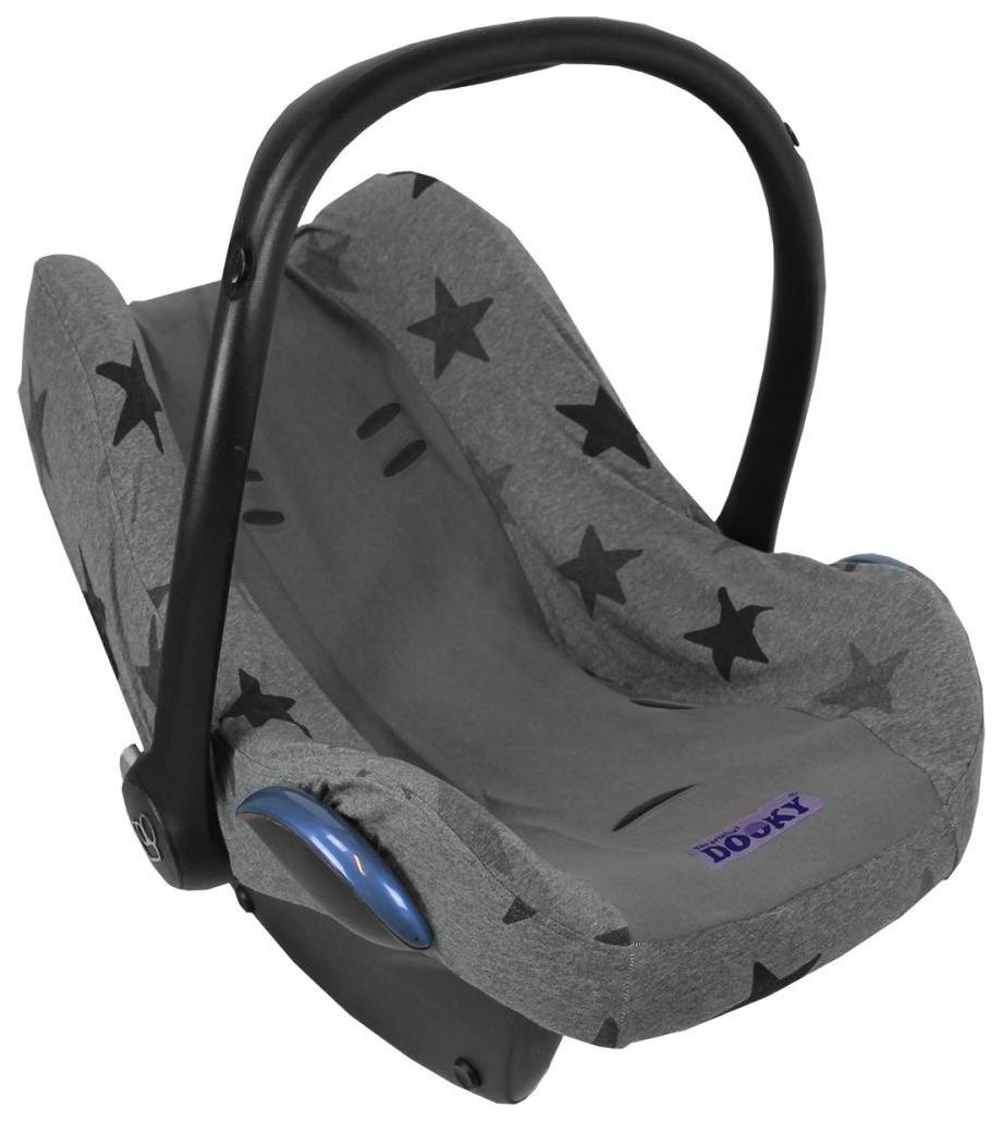 Чехол в автокресло Xplorys Dooky seat cover Grey stars