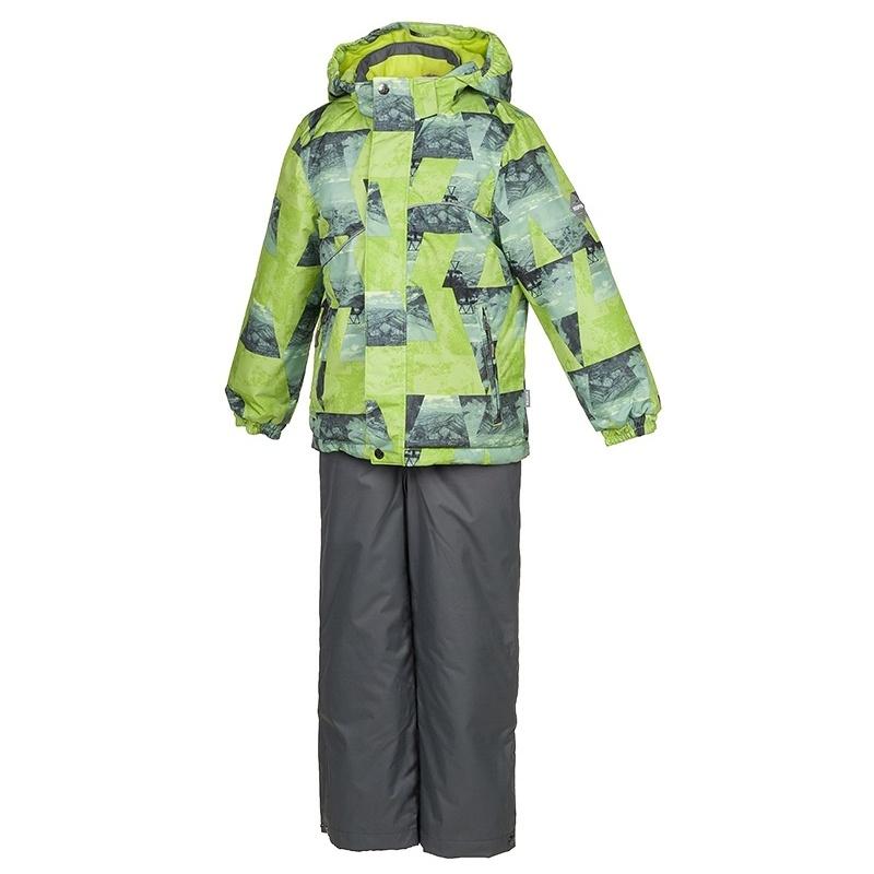 Комплект верхней одежды Huppa, цв. зеленый р. 110 Hun